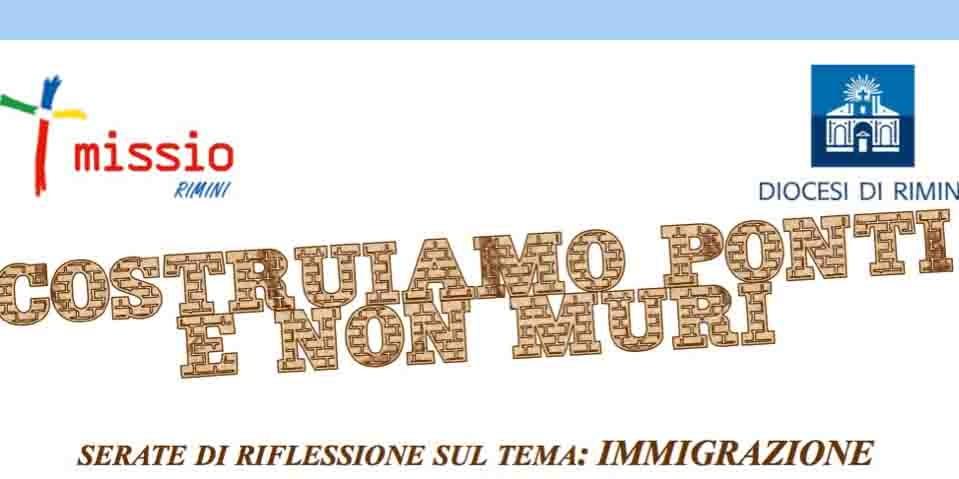 Serate di Riflessione sul tema Immigrazione – Diocesi