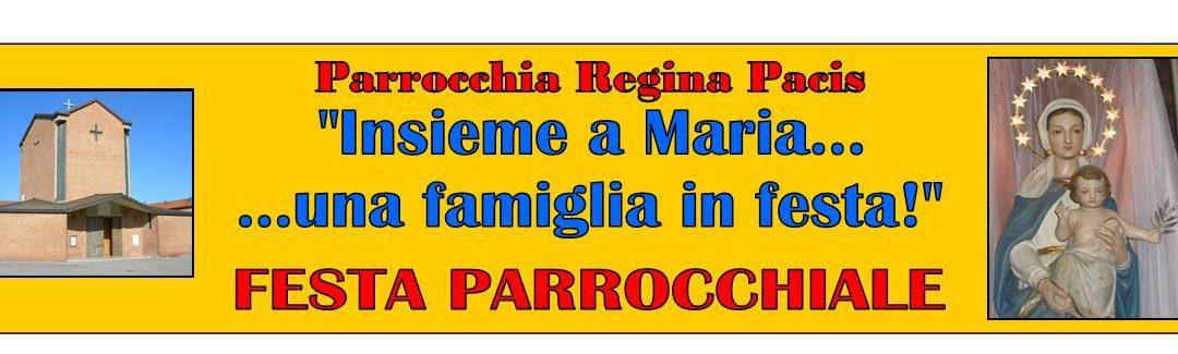 Avvisi della settimana dal 29 agosto – Regina Pacis